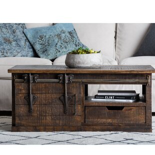 Adelina Coffee Table with Storage By 17 Stories