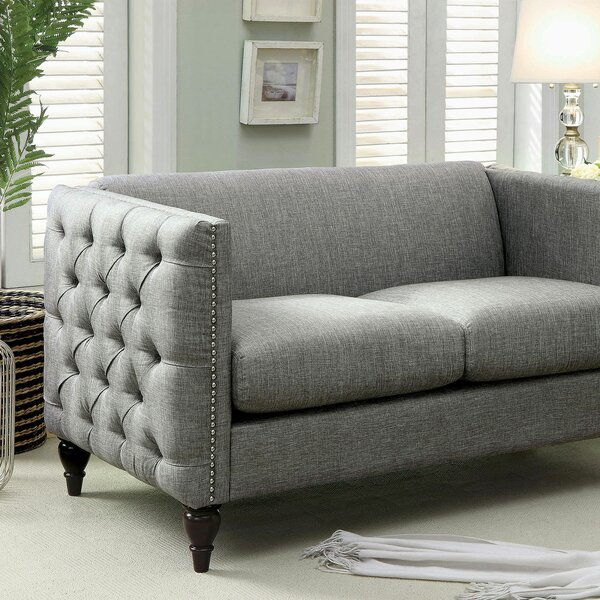 Luxury Brands Bladon Loveseat by Canora Grey by Canora Grey