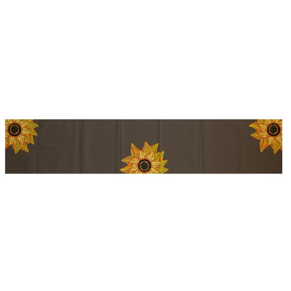 Essonne El Girasol Feliz Floral Print Table Runner by August Grove