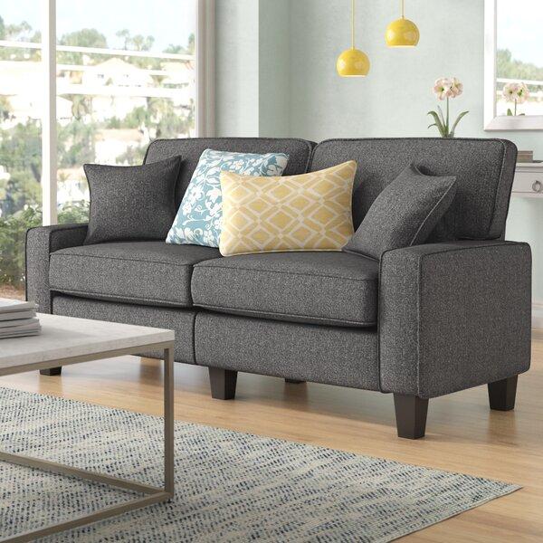 George 78 Track Arm Sofa by Trent Austin Design