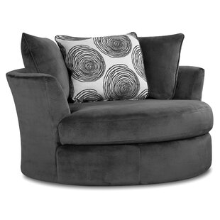 Compare Acosta Swivel Barrel Chair By Grovelane Teen