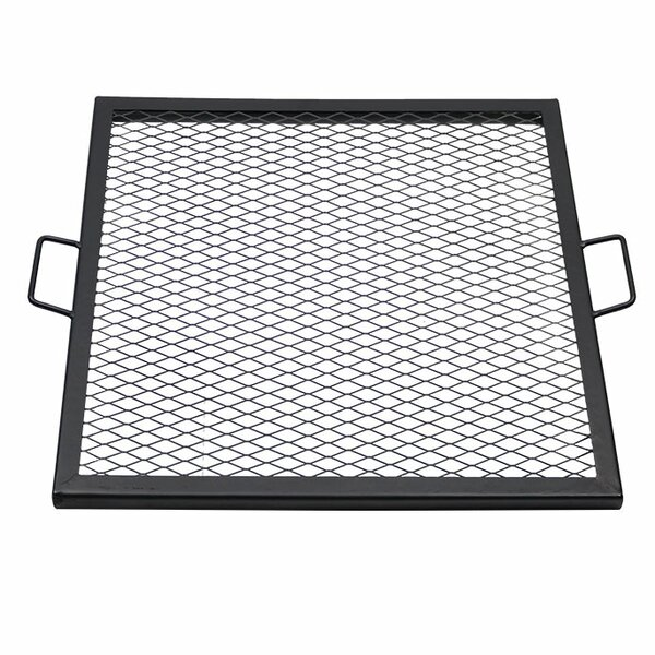 Hindsville X-Marks 24 Square Fire Pit Cooking Grate by Freeport Park