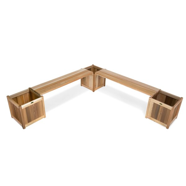 5 Piece Planter with Benches by All Things Cedar