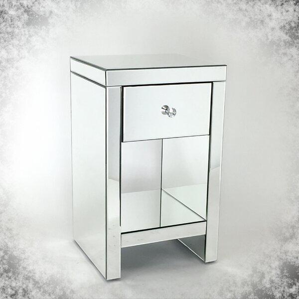 Kavita Beveled Mirror 1 Drawer Chest By House Of Hampton®