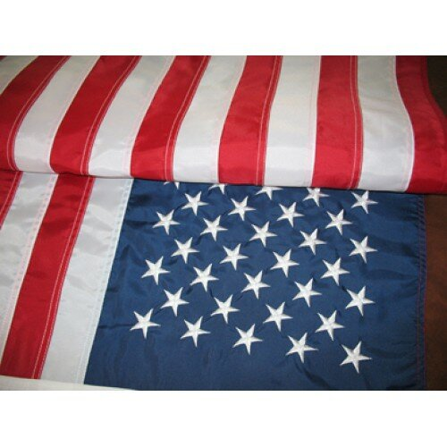 USA Embroidered Traditional Flag by NeoPlex