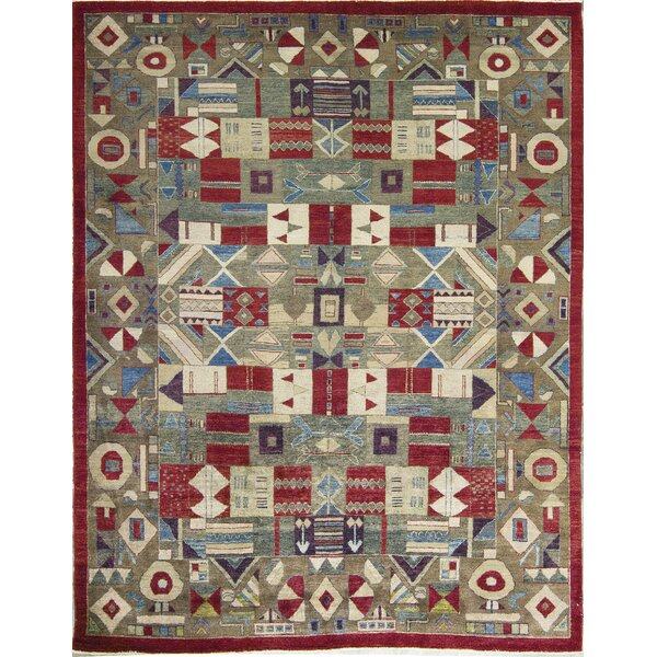One-of-a-Kind Hand-Knotted Wool Rust Area Rug by Bokara Rug Co., Inc.