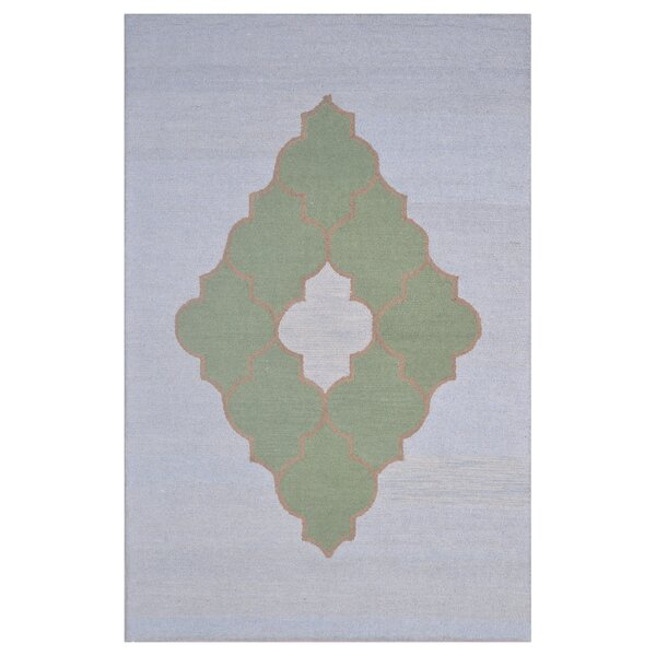 Wool Hand-Tufted Blue/Green Area Rug by Eastern Weavers