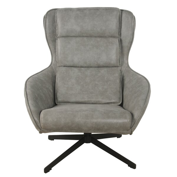 Longo Swivel Wingback Chair by 17 Stories