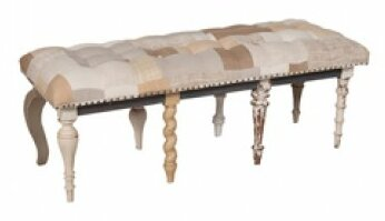 Vinalhaven Upholstered Bench by One Allium Way