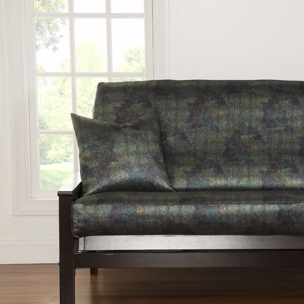 Rafael Full Box Cushion Futon Slipcover By Ivy Bronx