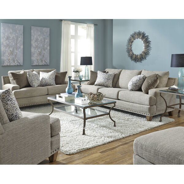 Affordable Bulloch Configurable Living Room Set by Three Posts