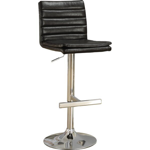 Adjustable Height Swivel Bar Stool (Set of 2) by Monarch Specialties Inc.