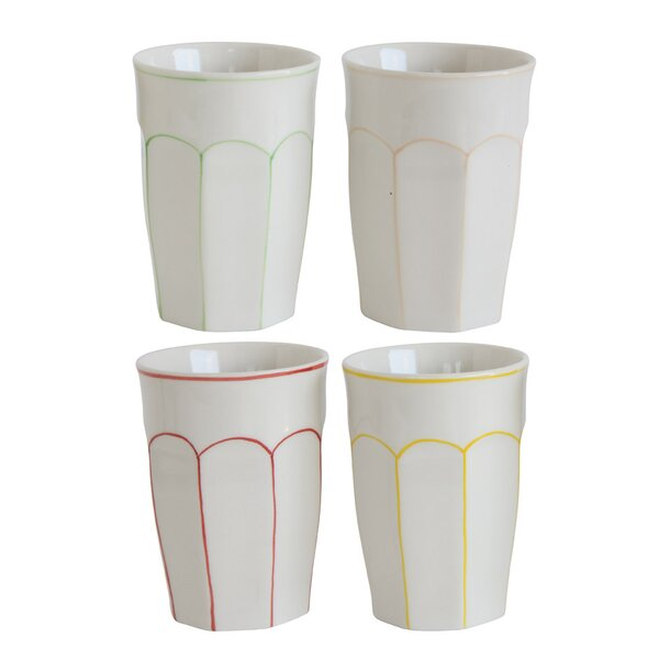 Timothy Stoneware Glass (Set of 4) by Mint Pantry