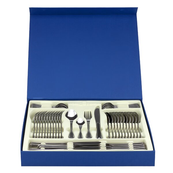 Cordoba 48 Piece Stainless Steel Flatware Set by Magefesa