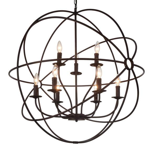 Margo 9-Light Candle-Style Chandelier by Gracie Oaks