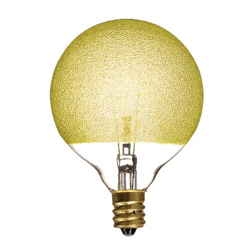Crystal 40W Yellow Incandescent Light Bulb (Set of 6) by Bulbrite Industries