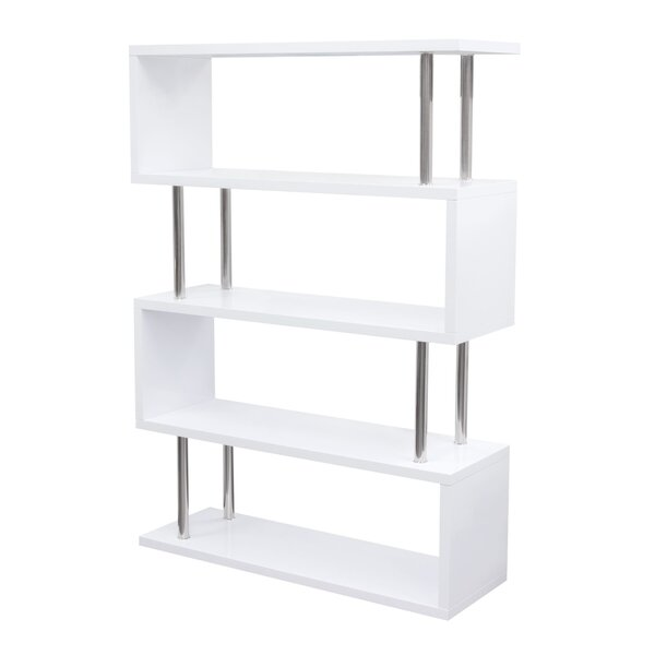 X-Series Geometric Bookcase By Diamond Sofa