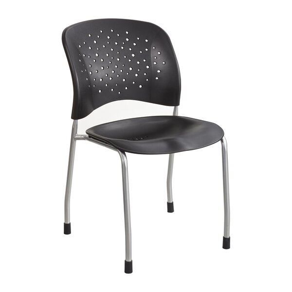 Armless Reve Guest Stacking Chair (Set of 2) by Safco Products Company