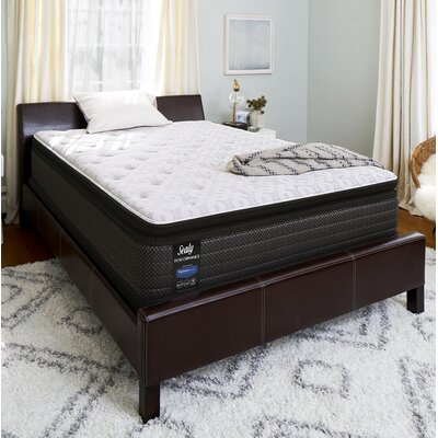 "Response Performance 13.5"" Plush Pillowtop Mattress Mattress Size: Queen"