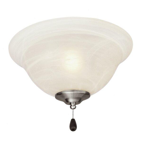 3-Light Bowl Ceiling Fan Light Kit by Alcott Hill