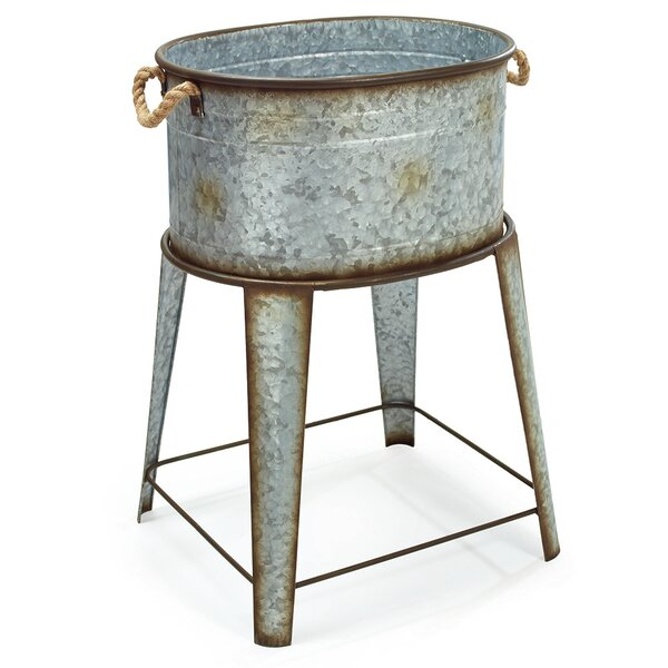 Thornbury Galvanized Tin Tub by Williston Forge