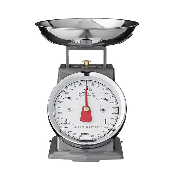 Baran Mechanic Metal Kitchen Scale by Mint Pantry