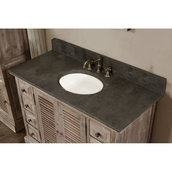 Clemmie 48 Single Bathroom Vanity Set by Laurel Foundry Modern Farmhouse