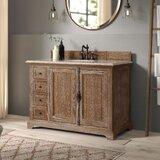 Ogallala 48 Single Cabinet Vanity Base Only byGreyleigh