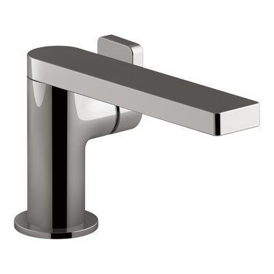 Single Handle Faucet Drain Titanium photo