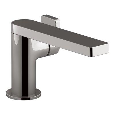 Single Handle Faucet Drain Titanium photo