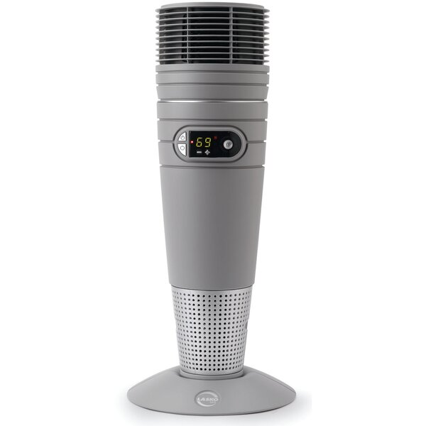 Ceramic 1,500 Watt Portable Electric Tower Heater With Remote Control By Lasko