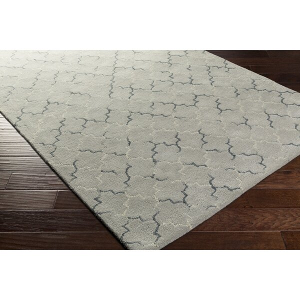 Hopkinton Hand-Tufted Gray/Neutral Area Rug by Alcott Hill