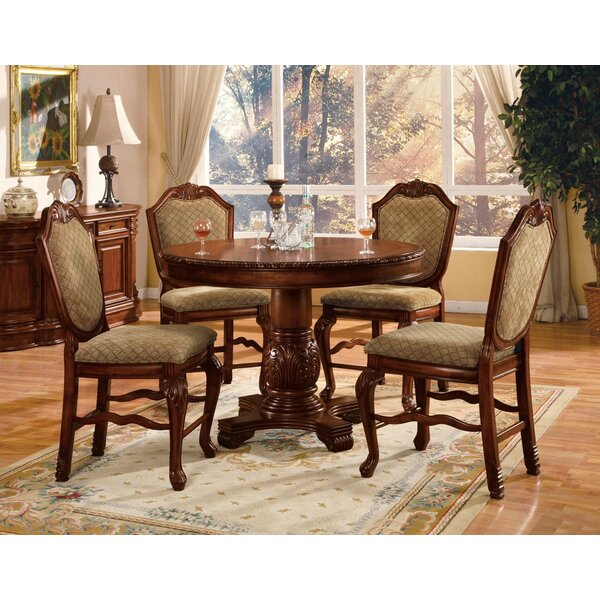 Stephenson 5 Piece Counter Height Dining Set by Astoria Grand