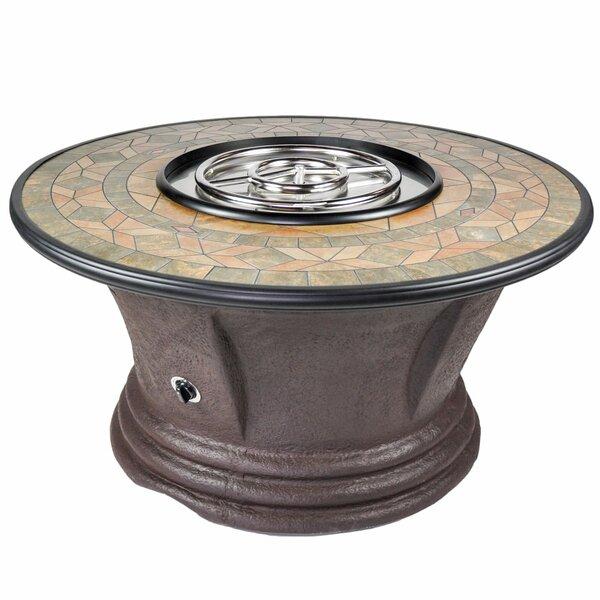Havana II Resin Propane Fire Pit Table by Tretco