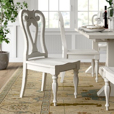 Farmhouse Amp Rustic Distressed Finish Dining Chairs Birch