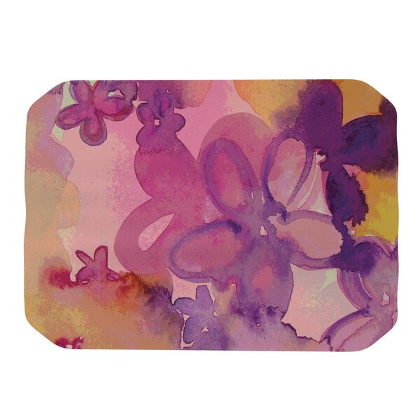 Dissolved Flowers Placemat by KESS InHouse
