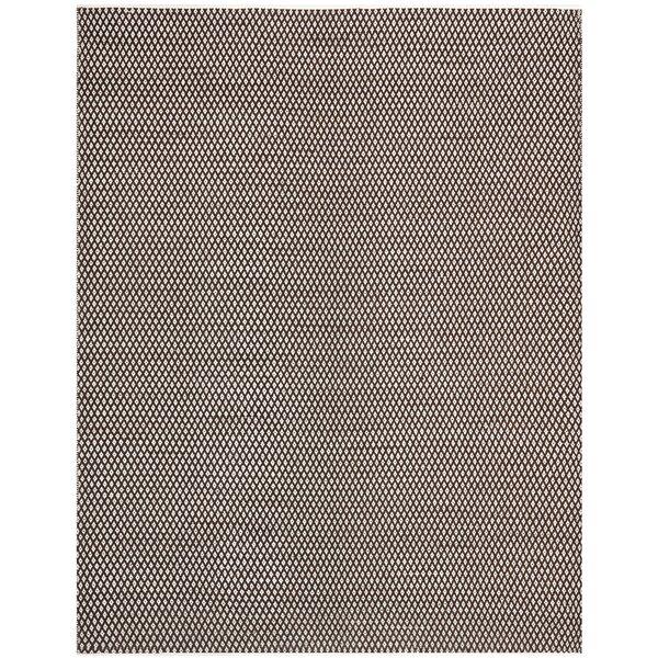 Polk Hand-Woven Cotton Brown Area Rug by Zipcode Design