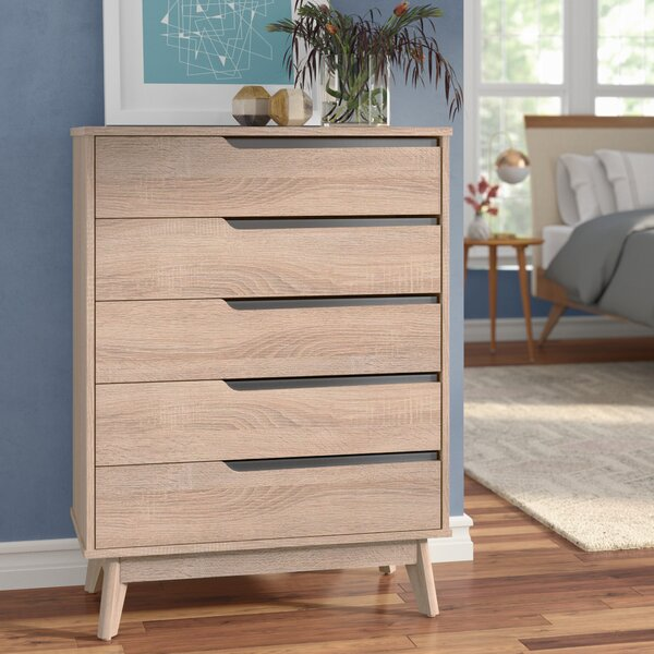 Ezra 5 Drawer Chest by Langley Street