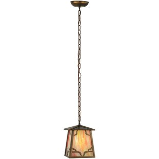 Kirkpatrick 1-Light Lantern Pendant by Meyda Tiffany