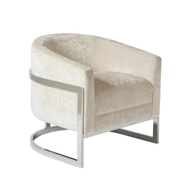 Kenton Barrel Chair by Mercer41 Mercer41