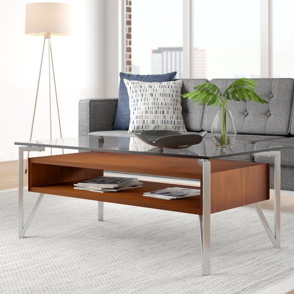 Vihaan Coffee Table With Storage By Wade Logan