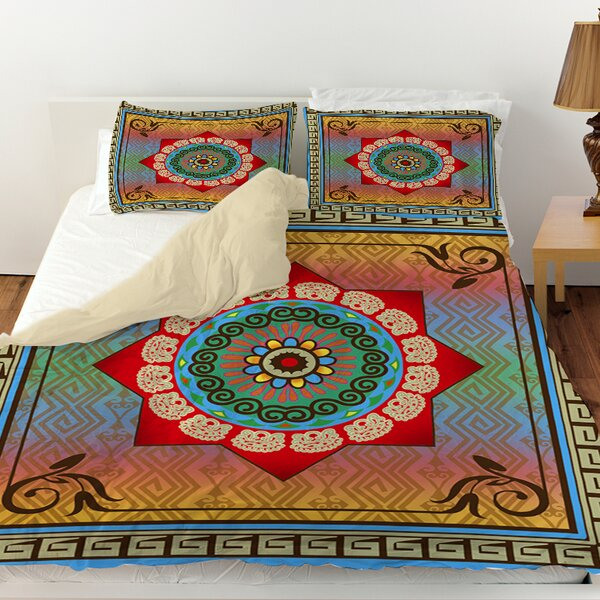 Mexican Summer Duvet Cover by Manual Woodworkers & Weavers