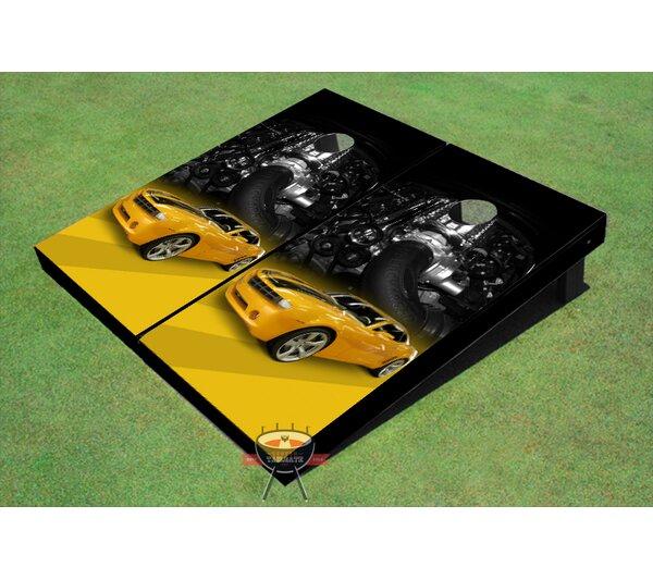 Camaro Cornhole Board (Set of 2) by All American Tailgate