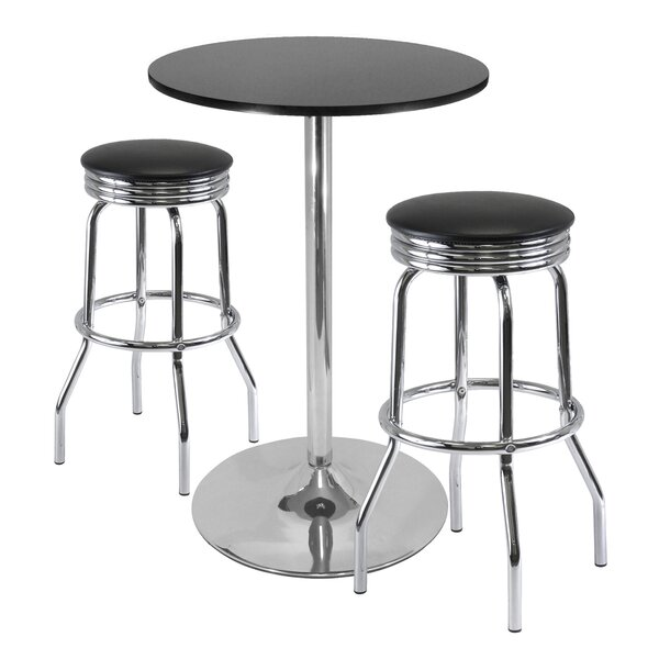 Clarksburg 3 Piece Pub Table Set By Red Barrel Studio Cool
