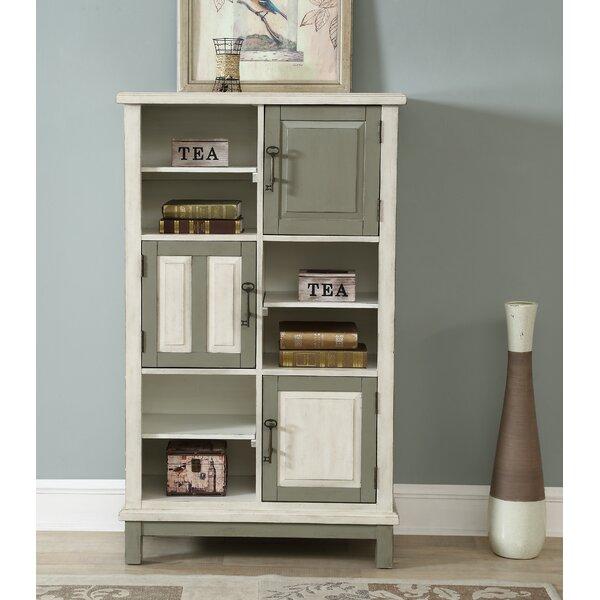 Burroughs 3 Door Standard Bookcase by Gracie Oaks