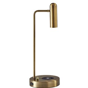 Budget Cleary Charge LED 17 Desk Lamp By George Oliver