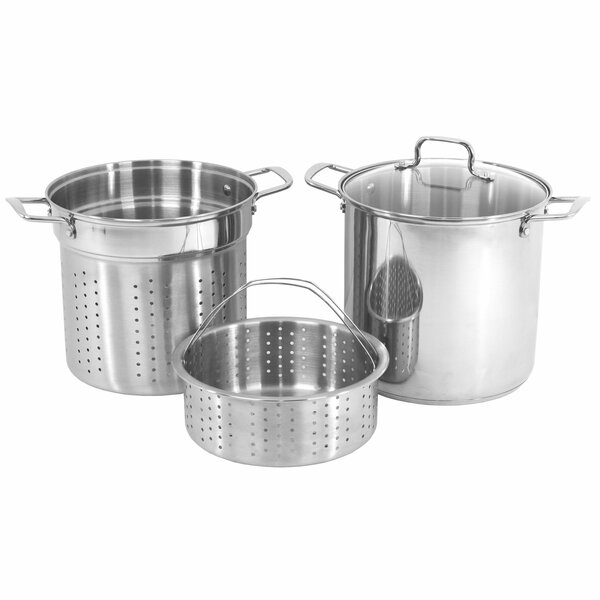 12-qt Stainless Steel Multi-Pot by Oneida