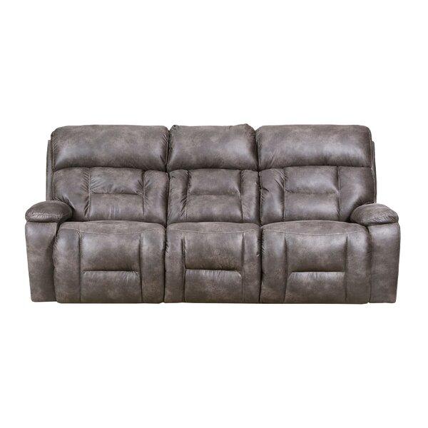 Pledger Reclining Sofa by Loon Peak
