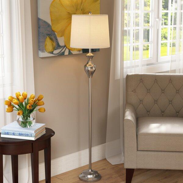 Bennet 60 Floor Lamp by Charlton Home