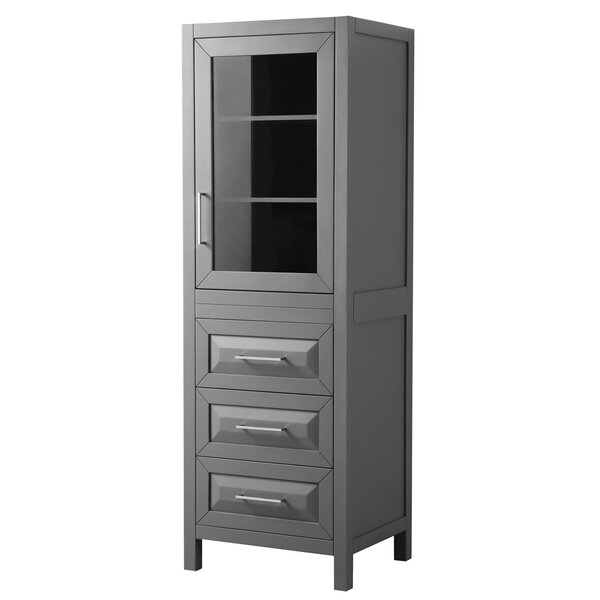 Daria 24 W x 71.25 H Linen Tower by Wyndham Collection
